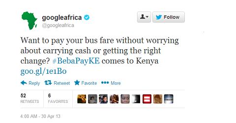 bebapay-googleafrica-tweet