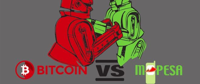 Bitcoin vs Mpesa featured image